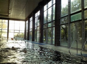 bazen sa termalnom vodom u Banji Kanjiži